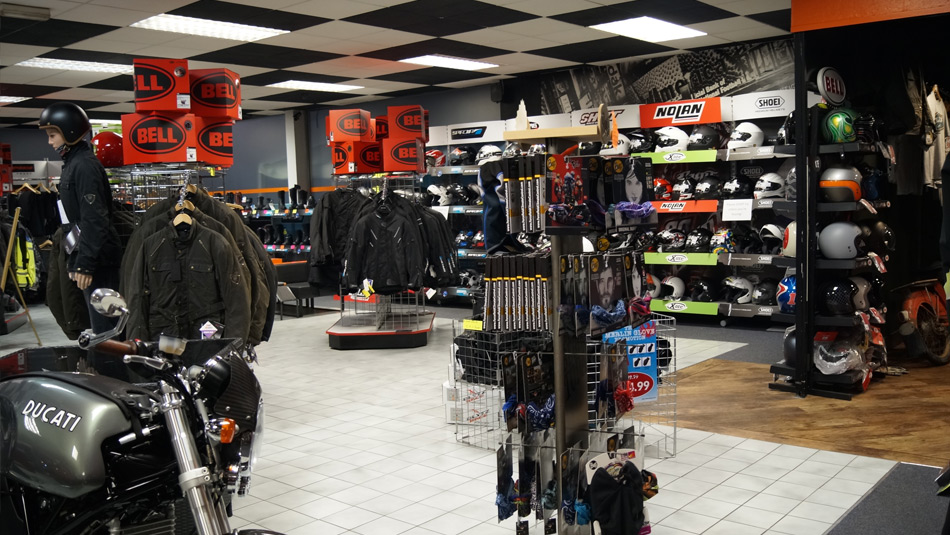 Biker Boutique selling helmets, jackets and more in Darlington