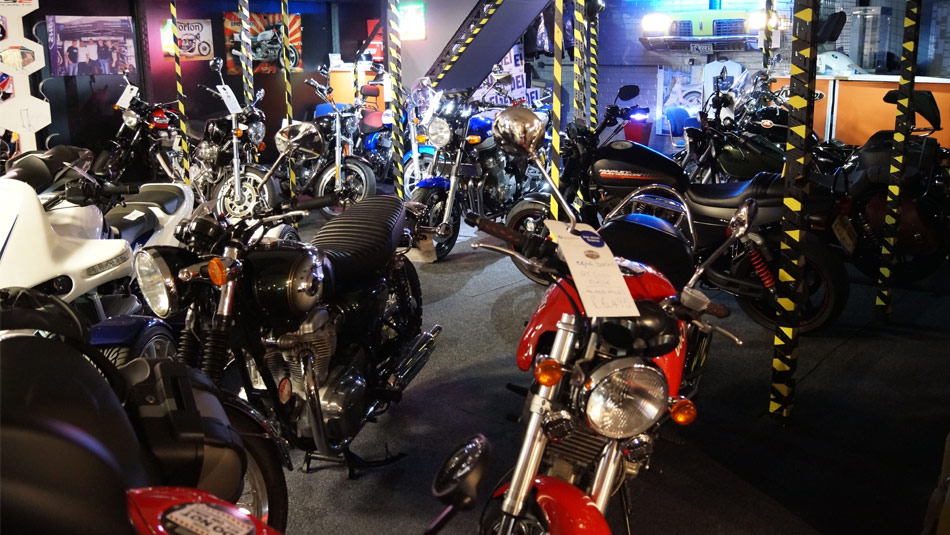 Our Used Bike Showroom in Darlington