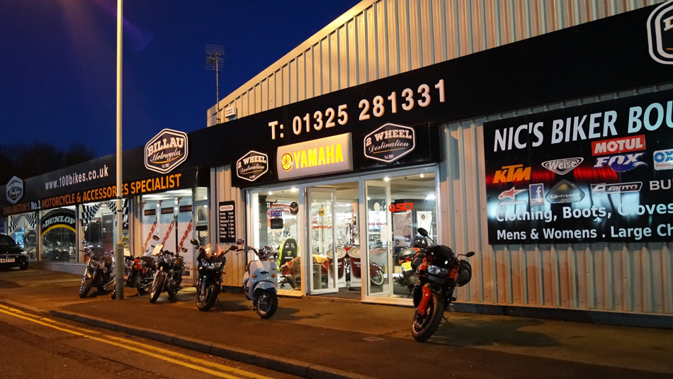 Billau Motorcycles, Darlington