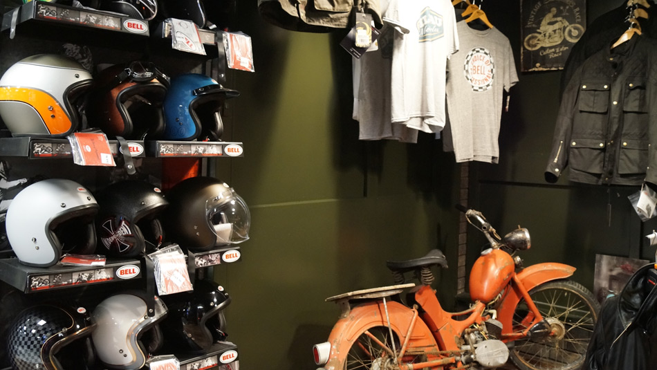 Biker Boutique selling t-shirts, jackets, trousers and more in Darlington