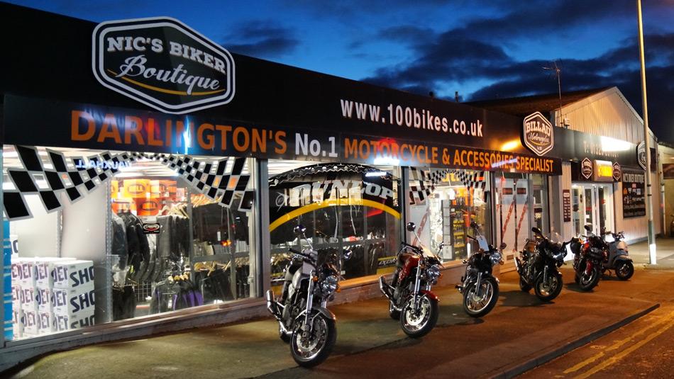 Billau Motorcycles, Darlington